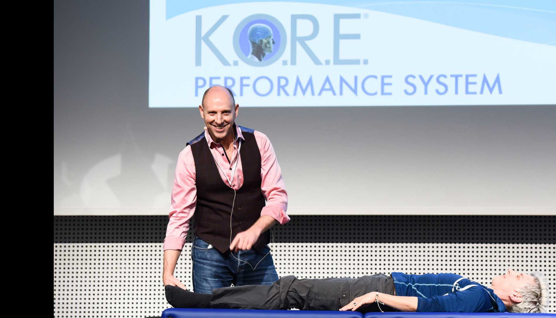 Dr John Brazier, Worldwide Health, Recovery & Performance System KORE Therapy