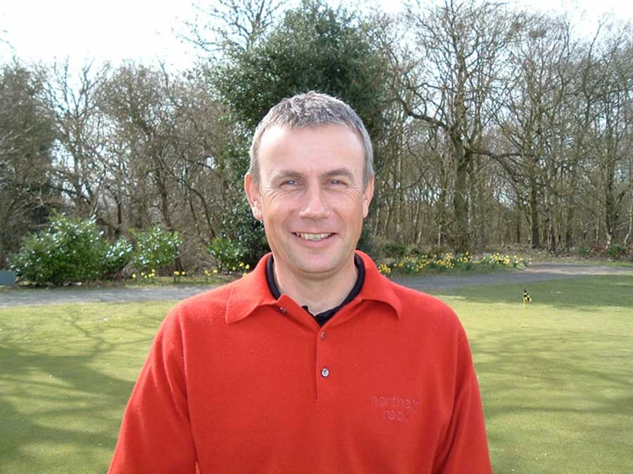 Paul Eales - Professional English Golfer, European Tour player - successfully treated by Dr. John Brazier